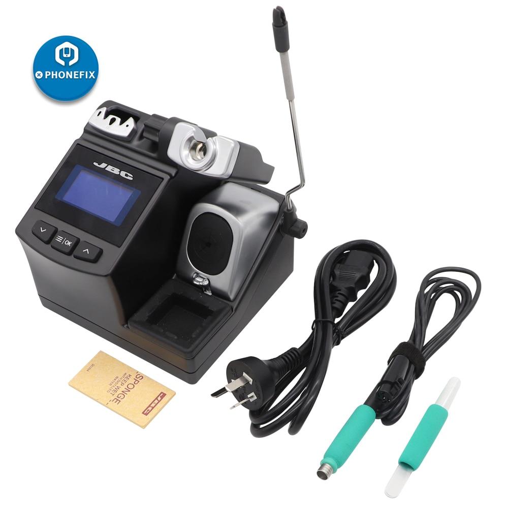 110V 220V PHONEFIX Original JBC CD-2SHE Handle Professional Precision Soldering Station For Mobile Phone Motherboard Soldering