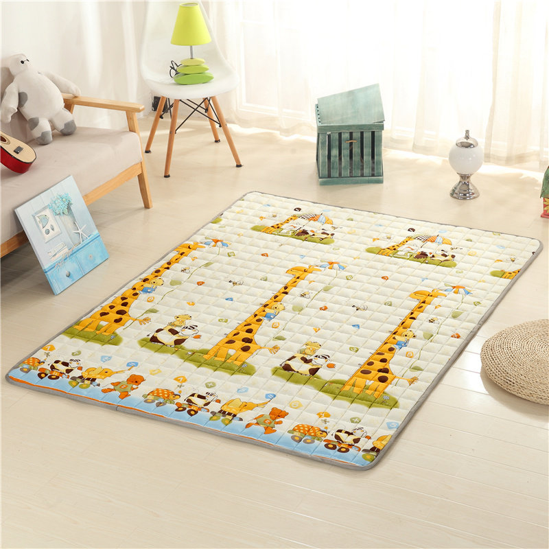 Large Size Kids Carpet Rugs Children Room Decor Baby Crawling Blanket Pad Baby Play Mats Cushion 120*200/150*200/180*200/200*220 стеганое одеяло non 110 150 150 200 180 210 200 230 1000g 2500g 110 150 150 200 180 210 200 230cm