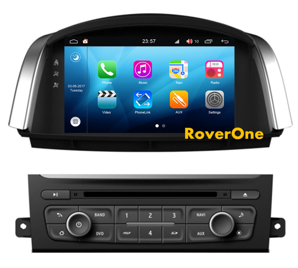 roverone android 8 0 car multimedia system for renault. Black Bedroom Furniture Sets. Home Design Ideas