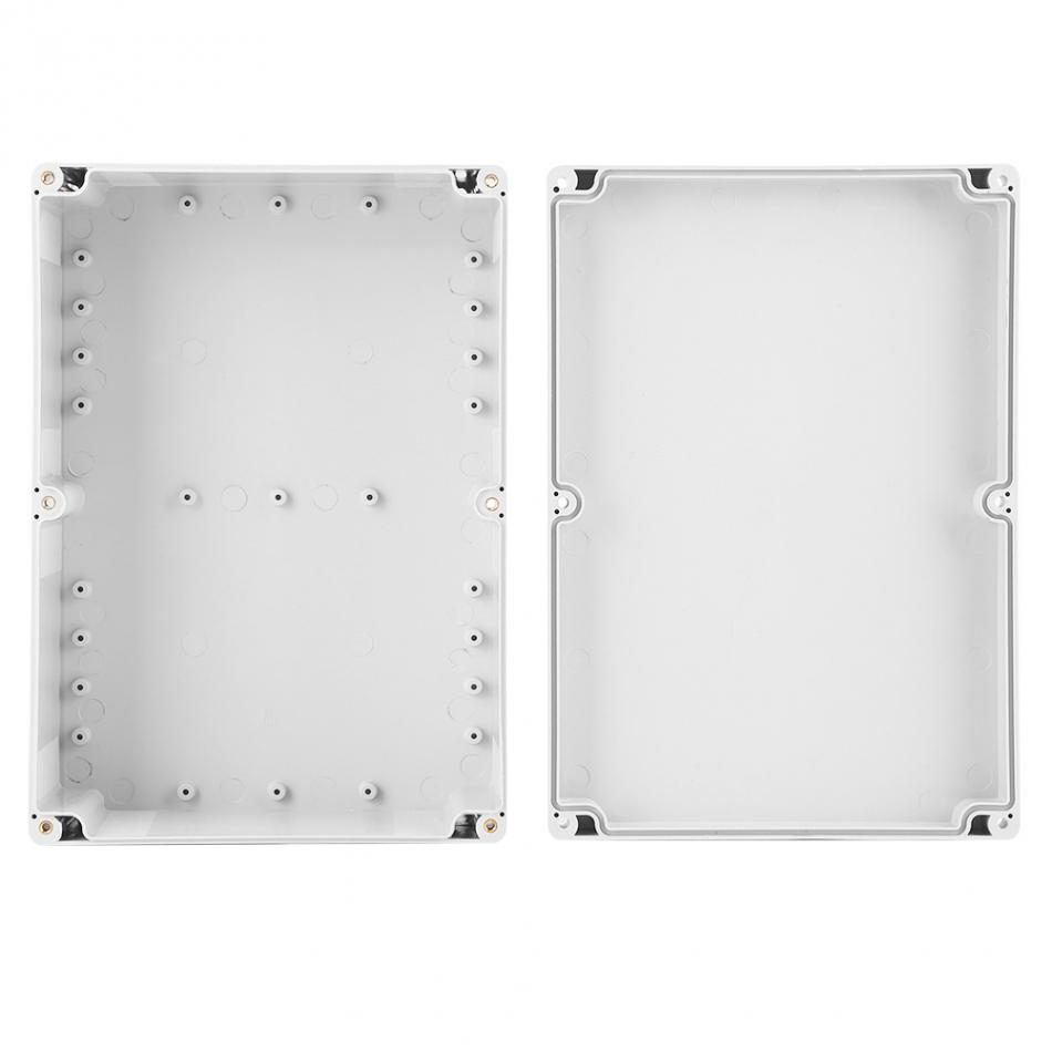 263*185*95mm Water-resistant White Plastic Enclosure Project Case DIY Junction Box Factory Price waterproof plastic enclosure case junction box 265mm x 185 mm x 115 mm l15