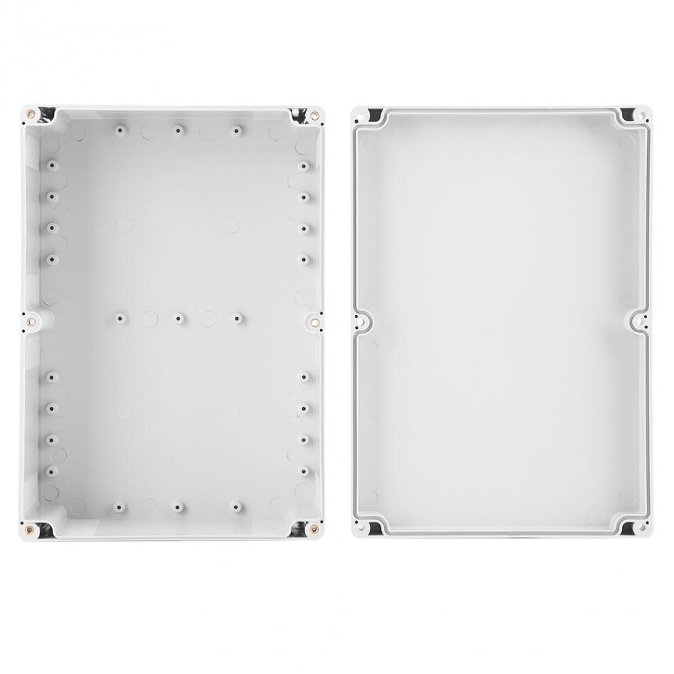 263*185*95mm resistente al agua blanco caja de plástico proyecto caja de conexiones DIY precio de fábrica