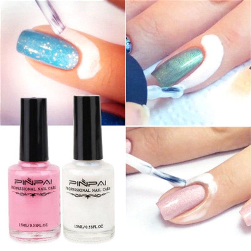 15ML Manicure Nail Polish Printing Peel Off Nail Art Decoration Base Coat Protected Glue Liquid Peel Off Tape Latex Nail Polish