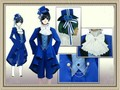 Hot Anime Kuroshitsuji Black Butler Cosplay Costume Ciel Fhantomhive Birthday Suit For Cosplay