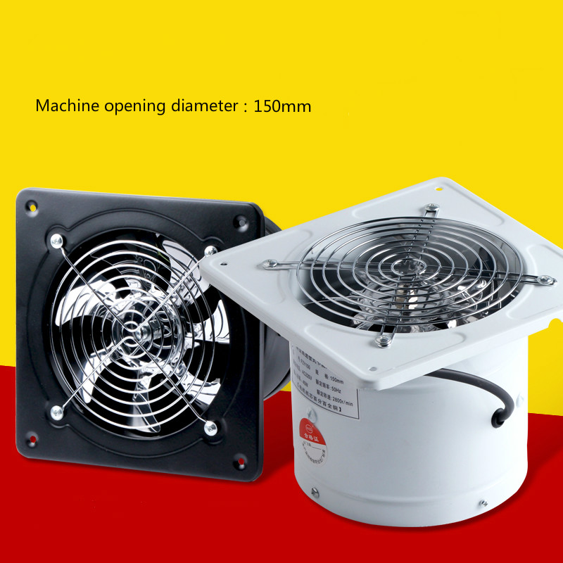 6 inch exhaust fan wall kitchen exhaust fan pipeline Hood