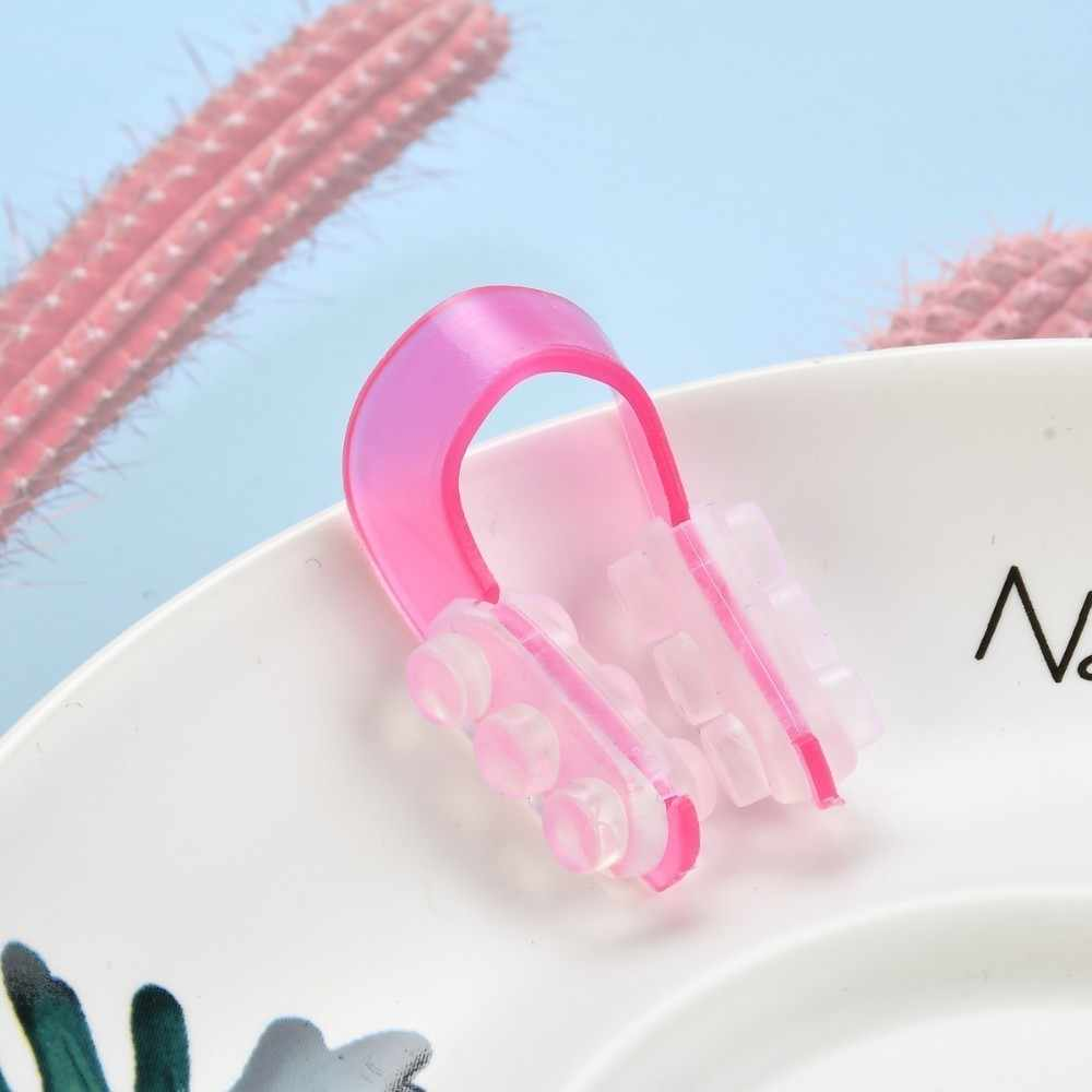1 pc útil nariz up shaper levantamento ponte endireitamento beleza clipe de silicone macio rosto cliping rinoplastia