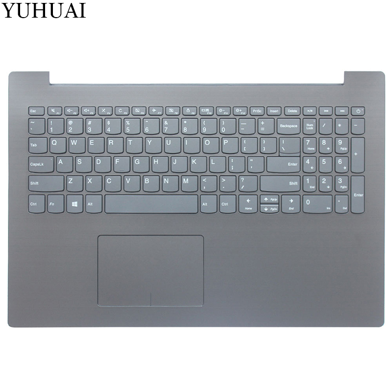 NEW US keyboard FOR Lenovo IdeaPad 320-15IAP 320-15AST 320-15IKB US keyboard with black Palmrest COVER