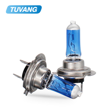 Bombilla halógena antiniebla para coche, luz de repuesto para faro delantero de coche, 2x55W, H1, H3, H4, H7, H8, H11, 9005, 9006, DC12V, 5000K
