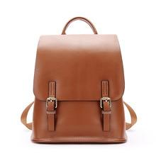 Amasie Для женщин рюкзак высокое качество из искусственной кожи Школьные сумки для подростков девочек топ-ручка Рюкзаки Мода GET0007