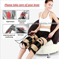 Physiotherapy Far Infrared Electric Heating Massage Belt Knee Massage Device Magnetic MoxibustionMe dical Kneepad