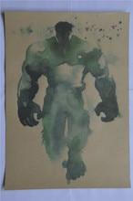 Superheroes Vintage Poster