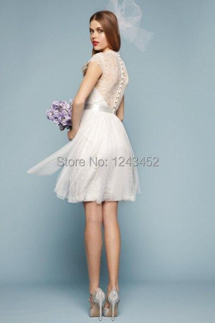 Short White Casual Wedding Dresses – fashion dresses