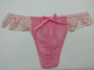 a97593e08f7f Comprar Mens tangas rendas underwear underwear gay homens cueca corda homme  dos homens g cordas jockstrap Baratas Online Preço