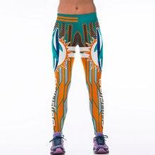 675ea5ecb5205 Moda Feminina Legging Esportivo Futebol Americano Estilo 3D Impresso  Leggins Calças Leggings De Fitness Ginástica Treino