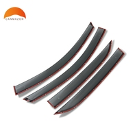 For Chevrolet Holden Equinox 2018 2020 Window Visor Cover Trim Vent Shade Rain/Sun/Wind Guard Car Styling Awnings Shelters