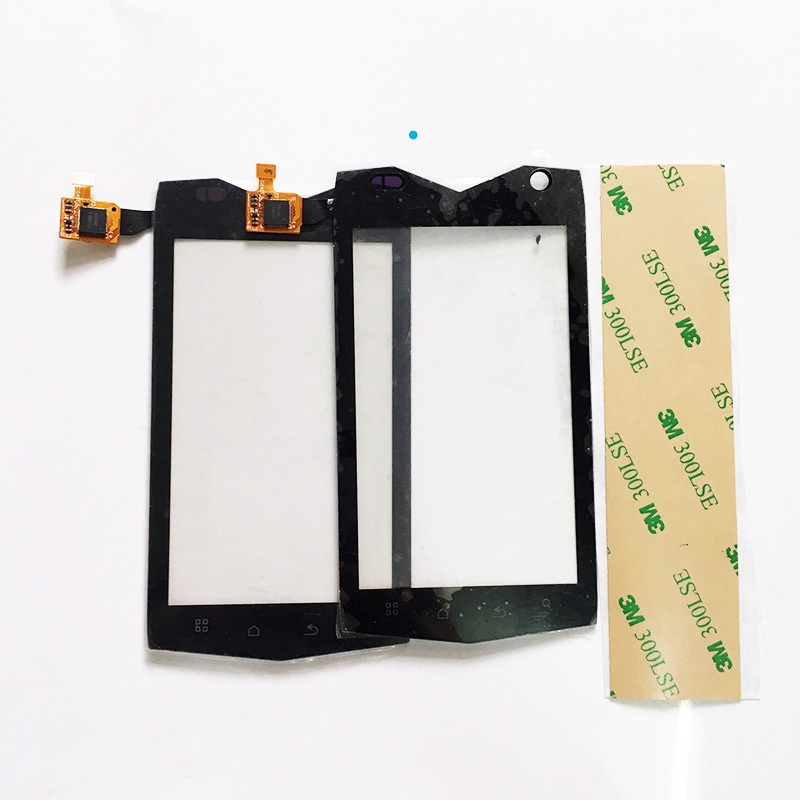 imágenes para Pantalla táctil Digitalizador Para Texet TM-4104R TM 4104R X-Conductor Sensor de Teléfono Celular Con Pantalla Táctil de Reemplazo de Color Negro