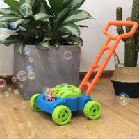 Creative Pushing Car Automatic Bubble Machine Maker Blower Baby Kids Toy Gift