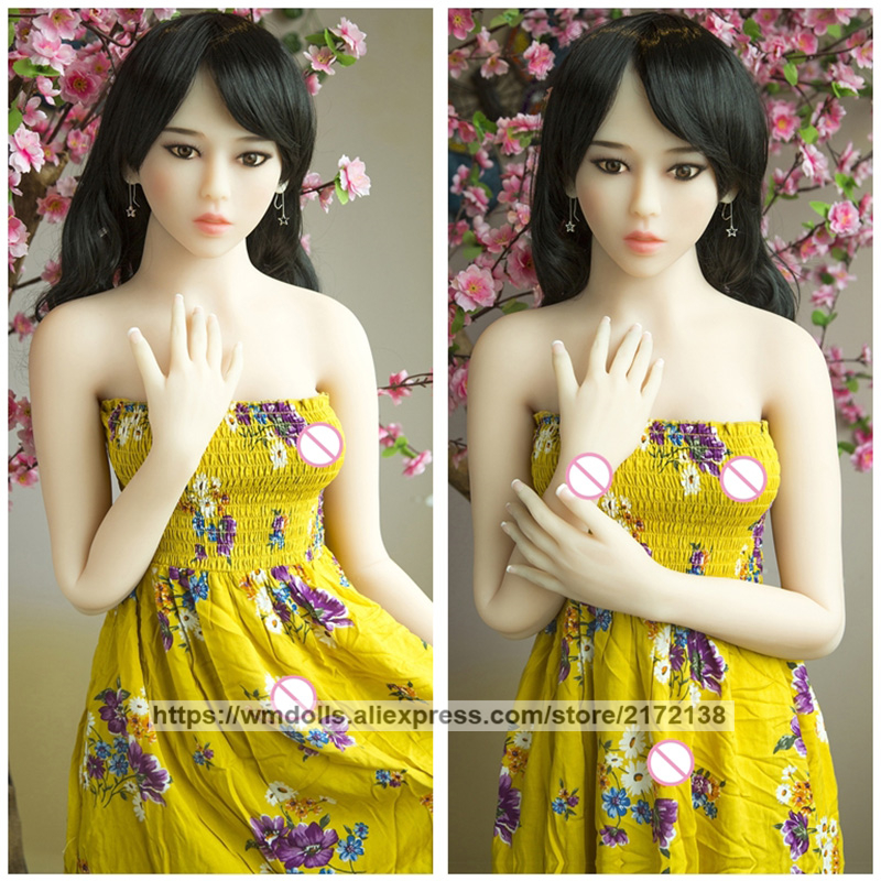 157cm Lifelike Silicone <font><b>Sex</b></font> <font><b>Doll</b></font> Realistic Anime Japanese TPE Love <font><b>Dolls</b></font> Adult Sexy Toys For Men image