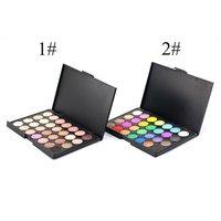 10PCS Professional Portable Color Eyeshadow Palette Makeup Set Neutral Shimmer Matte Cosmetics Eye Shadow Beauty