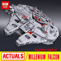 Star Wars 05007 Millennium Falcon Figure Toys Building Blocks Marvel Minifigures Kids Toy 10467 Compatible With