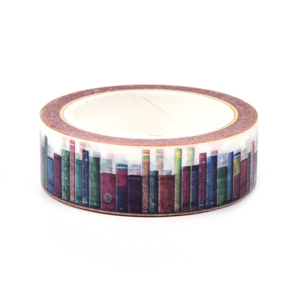 Decoratieve Bibliotheek 4s Adhesive Tapes Masking Ambachtelijke Tape Diy Scrapbooking Sticker Schoolbenodigdheden