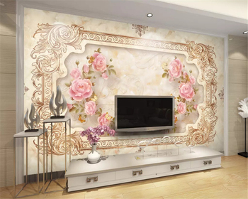 beibehang Custom thick silky 3d wallpaper classic European stone relief TV sofa bedroom background papel de parede papier peint beibehang custom size abstract space corridor white sphere 3d stereo tv background wallpaper papel de parede 3d papier peint