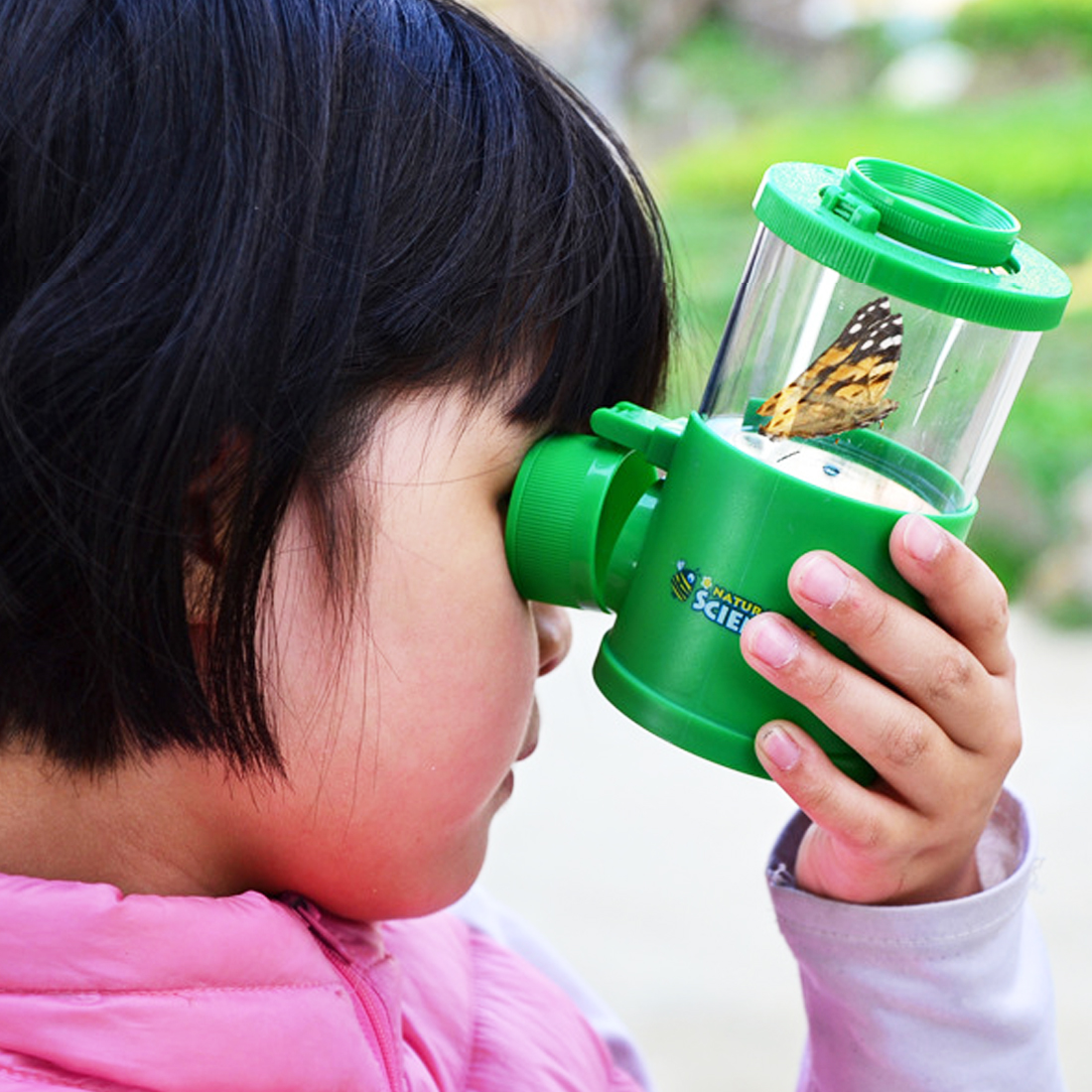 Bug Viewer Insect Magnifier Collecting Kit Children Observer Biology Kit Learning Early Development Education Children random c