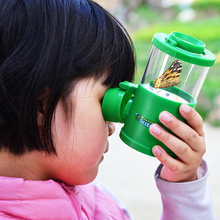 Bug Viewer Insect Magnifier Collecting Kit Children Observer Biology Learning Early Development Education random c