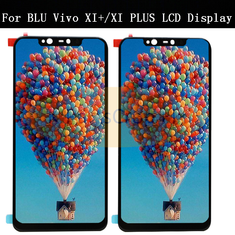 Original Para BLU vivo XI Mais LCD V0310WW V0311WW Display LCD Touch Screen Digitador para Blu vivo Xi + XIPlus lcd para vivo xi lcd