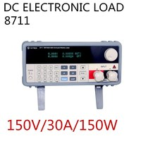 DC Electronic Load 150V/30A/150W IV 8711 for Production Lines Battery Switching and Linear Power Supply Test Polarity Protection