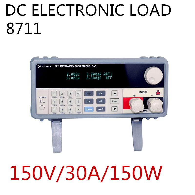 IV-8711 150 V/30A/150 W de charge électronique de cc pour des lignes de Production commutation de batterie et Protection linéaire de polarité d'essai d'alimentation d'énergie