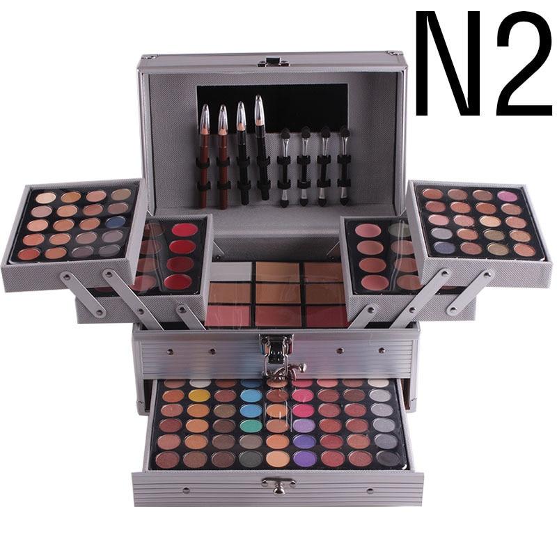 Full Pro Makeup Kit Eye Shadow Makeup Rouge Blusher Shimmer Matte Concealer Set матирующий консилер matte effect concealer makeup revolution лицо