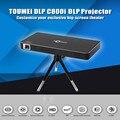 TOUMEI C800i DLP Мини-Проектор для Android 4.4 80 Люмен 854 х 480 Пикселей 1080 P Двухдиапазонный Wi-Fi Bluetooth 4.0 Проектор Для Домашнего Кинотеатра