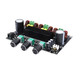 Image 4 - XH M573 TPA3116D2 80W+80W+100W 2.1 Channel TPA3116 digital Power Amplifier Board Bass Subwoofer hifi amplifiers B2 002