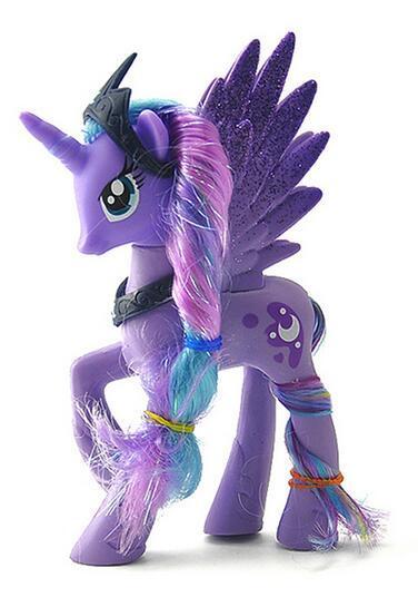 14 см высоком Единорог Pet лошадь пвх игрушки лошадь принцесса Луна