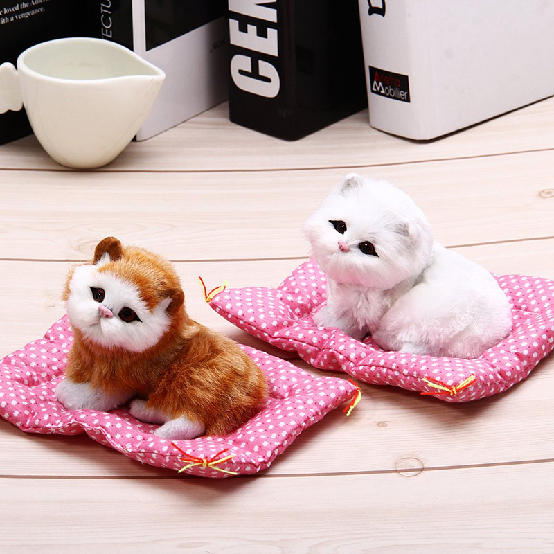 Toy Doll-Decorations Simulation Animal-Doll Lovely with Sound Kids Birthday-Gift Stuffed-Toys