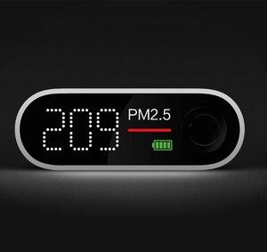 Image 5 - Портативный детектор воздуха Xiaomi Smartmi PM2.5 PM 2,5, миниатюрный чувствительный монитор качества воздуха Mijia для дома, офиса, отеля, светодиодный экран Mi