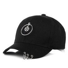 5d7cfb089cd Teenager Hip Hop Ring Cap Designer Skateboard Hat Snapback Men Women Visor  Hat White Red Black