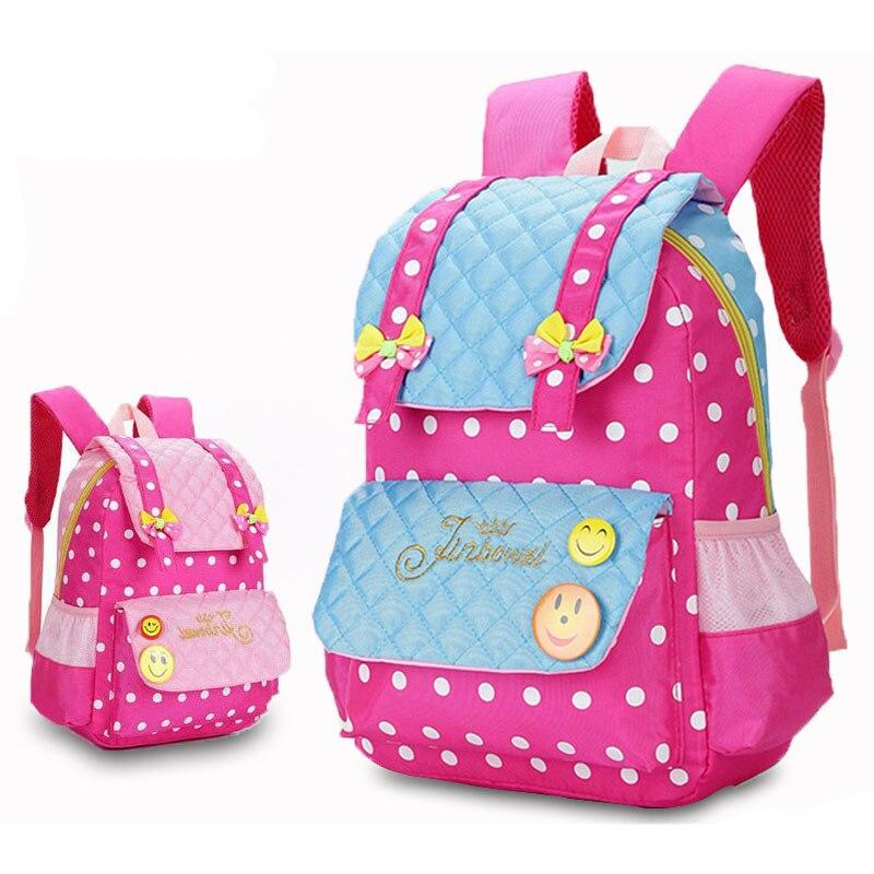 New Arrival School Bags For Girls High Quality Children Backpack Cartoon Smiling Face Primary School Backpack Mochila Infantil
