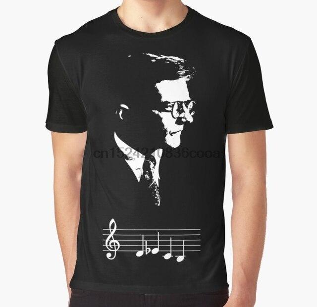 2b50a160d All Over Print Women T Shirt Men Funny tshirt Dmitri Shostakovich DSCH  motif musical notes Graphic Women T-Shirt. 2 orders
