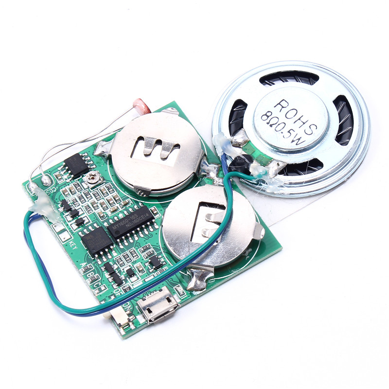 DIY Music Module For Greeting Cards Gift Box Light Chargeable/Volume Adjusting USB Downl ...