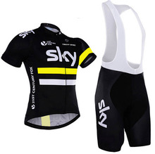 Free Shipping Cycling Jersey Bike Clothes Top Quality Professional Jersey Factory Manufacturer 3 Color Bib Set