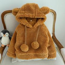 Winter Toddler Snow Jacket For Boy Girl Newborn Fleece Coat Parkas Outerwear