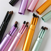 Portable Mini Makeup Brushes 5 pcs Set