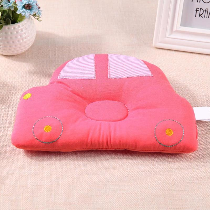 Baby Shaping Pillow Prevent Flat Head Baby Pillow Sleeping Positioner Cars Support Shaping Cotton Cushion Baby Room Decoration