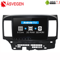 Asvegen Octa Core Car DVD Radio For Mitsubishi Lancer EX 2010 2016 Car PC head Unit GPS Navigation 2 din Car Stereo Multimedia