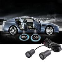 1 paar Auto Deur Licht 7 W Cree Led Chips Lamp Loge Laser Welkom Lamp Shadow Projector Licht Voor Audi