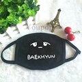 K-POP Baekhyun EXO Logo Wholesale KPOP Mouth-muffle Face Mask Dammskydd Maschere Antipolvere Masques Dust Cotton KZ019