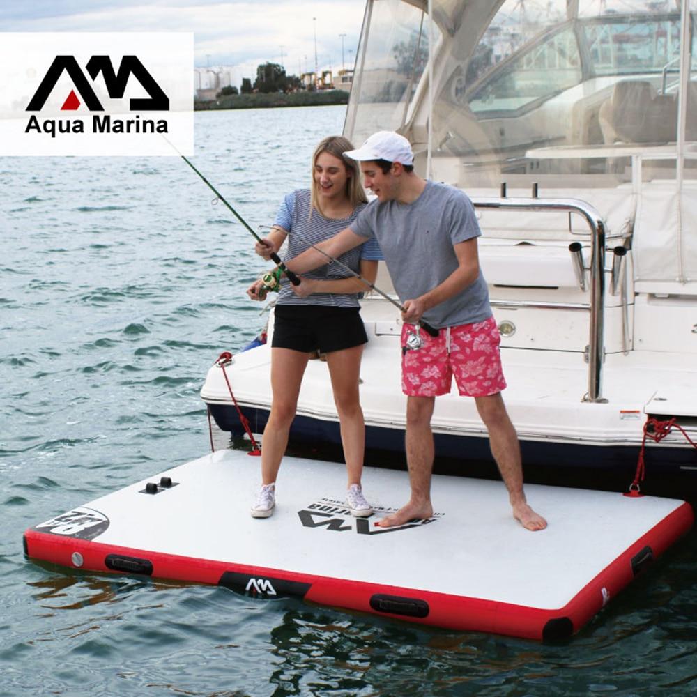 Fishing Water Platform DWF Floating Platform Inflatable Deck Air Deck Inflatable Water Platform Drop-stitch Dock
