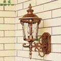 БЕСПЛАТНАЯ ДОСТАВКА 2 ШТ. Открытый настенный светильник мода открытый сад настенные светильники свет балкон водонепроницаемый лампа проходу настенный светильник