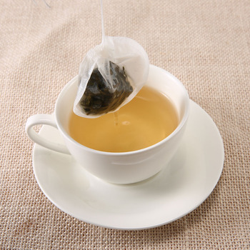 100 Pcs/Lot Tea Bag Round Nature Filter Paper TeaBag Empty Heal Seal Herb Loose Tea Infuser With String 2